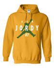 "GOLD Jordy Nelson Green Bay Packers ""Air Jordy"" Hooded SWEATSHIRT HOODIE $18.99 USD on eBay"