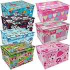 Large Kids Toy Storage Box Childrens Chest Clothes Laundry Bedding Bag Tidy