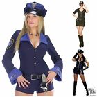 POLICE WOMAN SEXY COP FANCY DRESS COSTUME OUTFIT LAW INSPECTOR OFFICER NAUGHTY