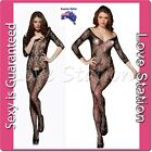 Sexy Fishnet Body Stockings Open Crotch Clearance Price is Lower Than Cost