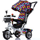 Baby Child Fantastic 3 Wheels Bike Trike Toddlers For 6-72 Months Tricycle FS945