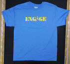 ENGAGE- Captain Jean Luc Picard t-shirt Star Trek TNG The Next Generation - NEW