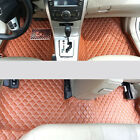 6 Color! Interior Leather Floor Mats & Carpets For Toyota 86 2012-2015