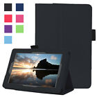 lights for kindle - Luxury Slim Stand PU Leather Smart Cover Case For Amazon Kindle Fire 7 5th Gen