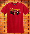 Communism It's A Party Funny New Mens Novelty Communist T-shirt Red Color Funny2