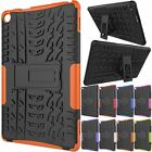 Rugged Slim Armor Hybrid Hard KickStand Case Cover For Amazon Kindle Fire HD 8""