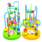 Educational Baby Kids Wooden Around Beads Toddler Infant Intelligence Gift Toys