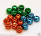 2016 Metallic Brass Beads various colors and sizes Fly tying materials