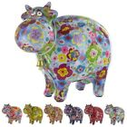Pomme Pidou Cow Money Box 6 DESIGNS Ceramic Collectable in Gift Box BRAND NEW