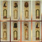 100 Bookmarks Egyptian Papyrus.