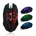 5500 DPI 6 Button LED Optical USB Wired Gaming PRO Mouse Mice For PC Laptop New