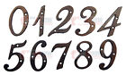 4 inch Rustic Cast Iron Metal House Numbers Street Address Pick #