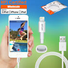 3ft MFI Certified Lightning Cable Data Sync Charger For iPhone SE 5C 5 6S 7 Plus