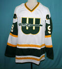 GORDIE HOWE WHA NEW ENGLAND WHALERS RETRO HOCKEY JERSEY WHITE SEWN NEW ANY SIZE