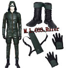Hot Cakes Green Arrow Season 5 Oliver Queen Cosplay Costume And Cosplay Shoes