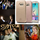 LED Light Up Selfie Phone Case Cover for Samsung Galaxy S5 S6 S7 Edge UK