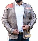 Finn John Boyega Poe Dameron Star Wars Leather Jacket (All Sizes Available) $104.99 USD