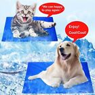 New High Quality Blue Pet Cool Mat Summer Dog Cooling Ice Bed Pads S M L XL XXL