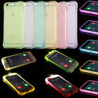 Clear LED Flash Shockproof Soft TPU Silicone Rubber Case Cover Incoming Call New