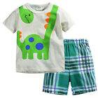 NEW BOYS Baby Toddler Kid's Clothes 2PC suit(T-shirt+Shorts)