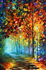 Modern Wall Art Deco Oil Painting Abstract Colour Scenery Print Canvas NoFrame