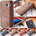 Slim Shockproof PU Leather Patterned Hard PC Case Cover For Samsung Galaxy S6 S7