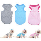 New Pet Dog Clothes Plain T-Shirt Vest Tee For Small/Big Dog Puppy