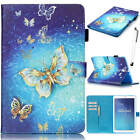 Floral Rotating Leather Case Cover Fr Samsung Galaxy Tab A6/A/E 7