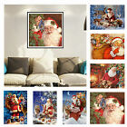 Santa Claus DIY 5D Diamond Embroidery Painting Cross Stitch Mosaic Home Decor