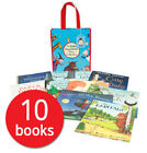 Julia Donaldson 10 Book Set Collection in Carry Bag (Gruffalo, Paper Dolls)
