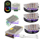 Double row 5050 RGB LED Strip + 18A Touch  Controller+  Amplifier+Power adapter