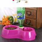 Useful Automatic Water Dispenser Dog Cat Pet Food Feeder Dish Bowl Fountains