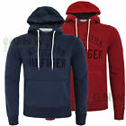 TOMMY HILFIGER MEN'S PULL OVER HOODIE, FLEECE 'NIEK' S/M/L/XL/XXL Was £90.00