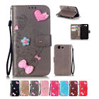 New Fashion For Sony Motorola Nokia HTC Leather Wallet Card Case Flip Cover SKIN