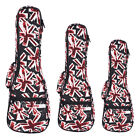 "Royal Ukulele Gig Bag Soprano Tenor Concert Ukulele Case Uke Bag For 21"" 23"" 26"""