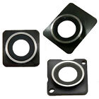 BACK REAR CAMERA LENS GLASS MODULE COVER RING IN BLACK FOR IPHON 4 4S 5 LOT