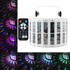30W RGBW DMX512 LED Butterfly Effect Stage Light DJ Laser Sound Active Projector