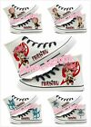 Anime Fairy Tail Print Canvas Shoes Unisex Casual High Top Sneakers