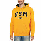 Southern Miss Golden Eagles Gold Eagle Head Arch & Logo Pullover Hoodie