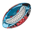 OPTIMUM SHARK RUGBY BALL -  SIZE 4 5 AND MINI  FREE POSTAGE