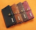 Removable Leather Card Magnetic Wallet Flip Case Cover Fo Samsung Galaxy S7 edge