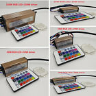 1 Set 10W 20W 50W 100W RGB LED Chip Light Lamp +RGB Driver and 24 Key Remote