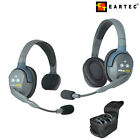 Eartec UltraLITE UL Single Double Eared Rechargeable Li Battery Wireless Headset