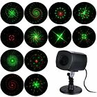 Outdoor Pattern Christmas Laser Projector Light Home Garden Party Stage Lighting