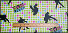 GREAT ELVIS LIVES SILHOUETTES POLKA DOTS - BTHY 1/2 YD 100% COTTON FABRIC