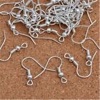 100pcs New Earring Hook Hook Coil Ear Wire For Jewelry Making Findings