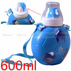 Blue Football Baby Sippy Cup Outdoor Sports Bottle for European Championship