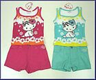 Hello Kitty Girl's sun top and shorts set; blue or pink, BNWT