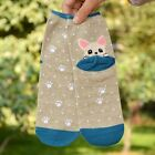 Lady Cute New Animals 3D Warm Short Socks Dog Puppy Print Cotton Ankle