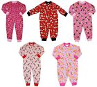 Girls All in One Pyjamas Minnie Mouse Doc McStuffins Tatty Teddy 2 - 8 Years